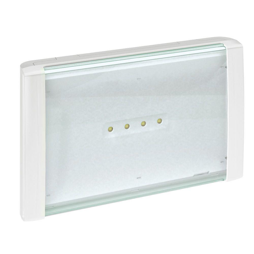 BAEH pour habitation ECO 2 à LEDs 8lm-5h plastique IP66-IK10 SATI adressable (062652)