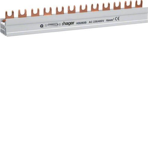 Barre pont 2P lang 16mm² 57m (KB280B)