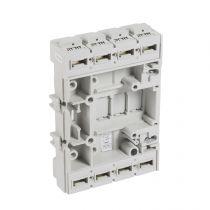 Base prise arrière méplat pour DPX³ 630 seul - 4P (422225)