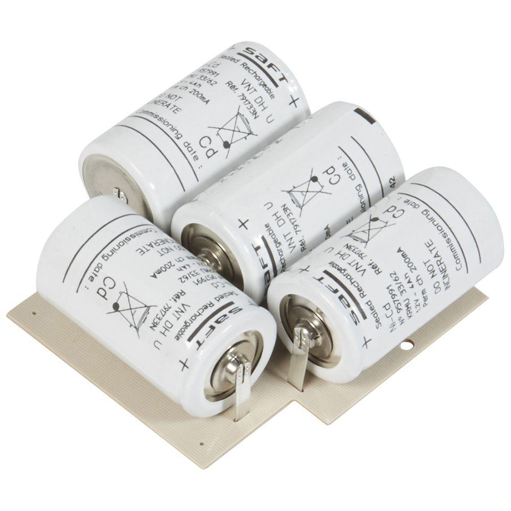 Batterie accu Ni-Cd pour maintenance BAES à fluorescence SATI/Sati adress (061018)