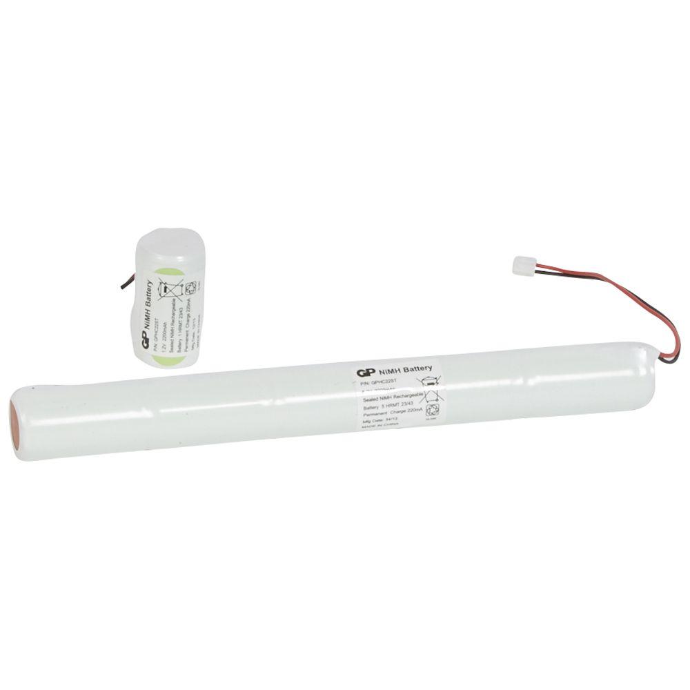 Batterie accumulateur Ni-MH pour maintenance BAES d\'ambiance IP 66 ECO 2 (061098)