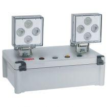 Bloc à phares à LEDs ECO 1 SATI AutoDiag 2500 lm - IP 65 - IK 07 (062532)