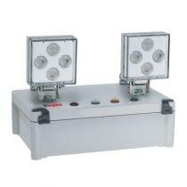 Bloc à phares à LEDs ECO 2 SATI Adressable 2500 lm - IP 65 - IK 07 (062632)