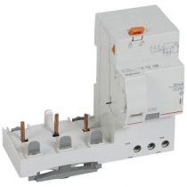 Bloc diff adapt DX³ - à vis - 3P - 400 V~ - 63 A - type Hpi - 30 mA (410605)
