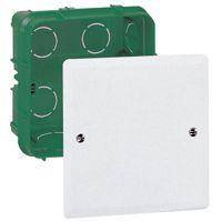 Boîte complète Batibox pour dérivation - rectangulaire - 85x85x40 mm