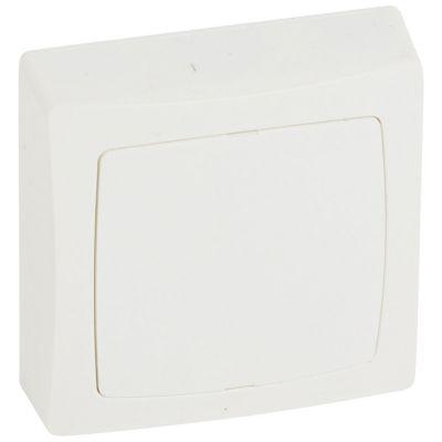 Boîte de dérivation appareillage saillie complet - blanc