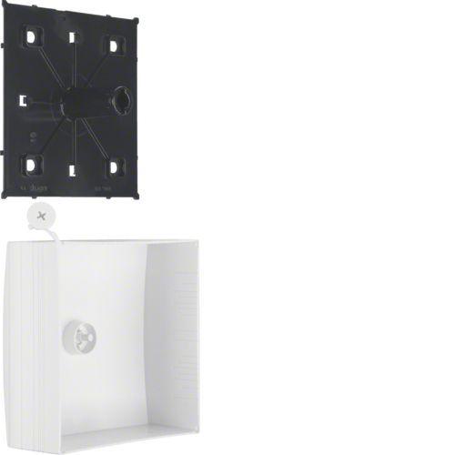 Boîte de dérivation pour moulure ATHEA 115x115mm en blanc pure (ATA711599010)