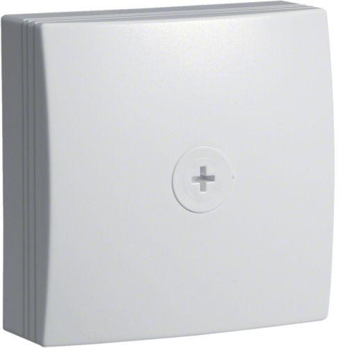 Boîte de dérivation pour moulure ATHEA 75x75mm en blanc pure (ATA707599010)