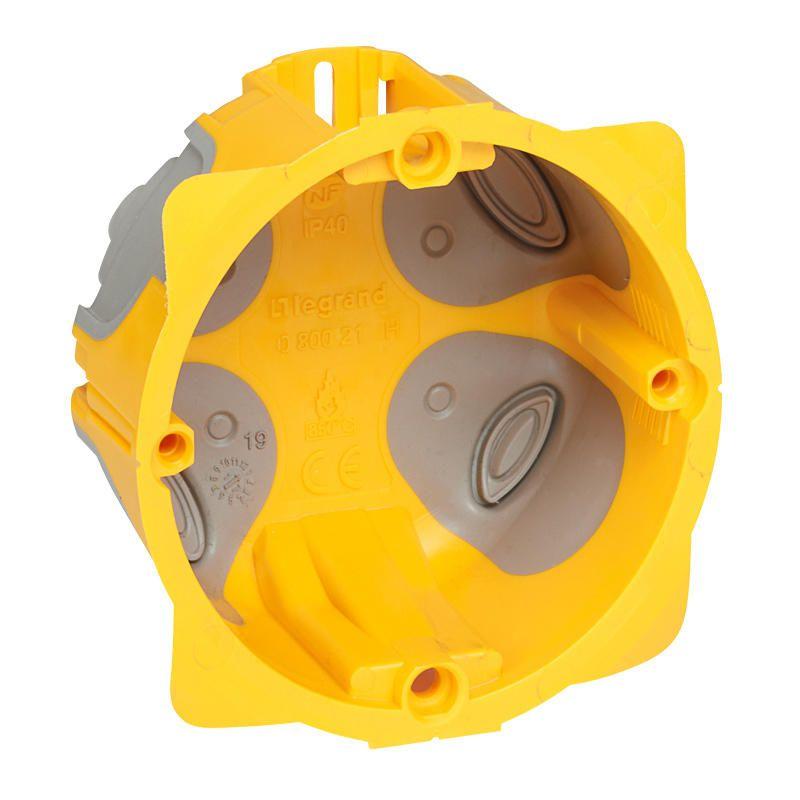 Boîte monoposte Prog. Ecobatibox - prof. 40 mm (080021)