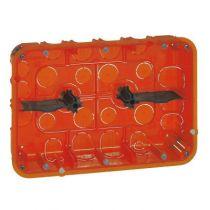 Boîte multimatériaux Batibox - grand format - 2x3 postes / 2x6/8 mod - prof 50
