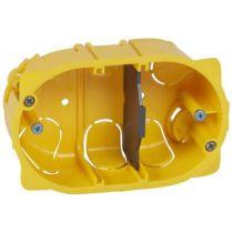 Boîte multiposte Batibox - cloison sèche - pour Mosaic - 3 mod - prof. 40