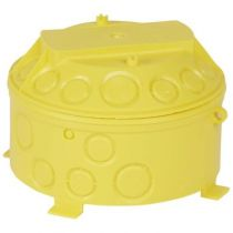 Boîte pour combles et hourdis Batibox - cloison sèche - Ø 140 - prof. 100 mm
