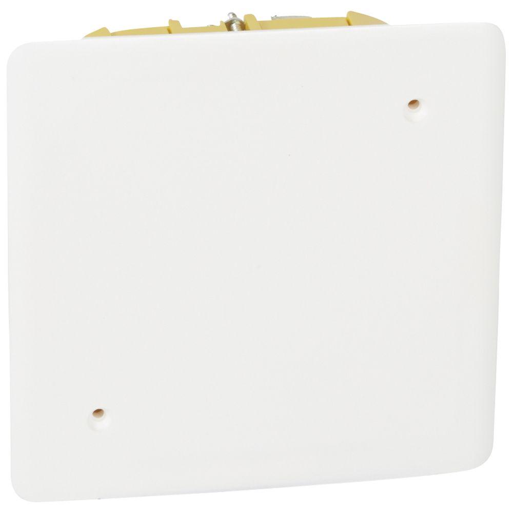 Boîte pour dérivation Batibox - cloison sèche - 115x115x40 mm - couv 140 x 140