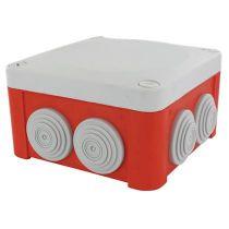 Boitier OPTIBOX Rouge 960° 1/4T 100x100x55 (515423)