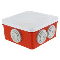 Boitier OPTIBOX rouge 960° 80x80x42mm (515303)