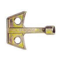 Clé métal pour empreintes - triangle mâle de 6,5 mm (036539)