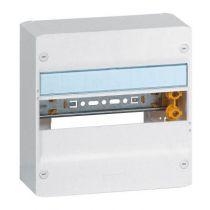 Coffret Drivia 13 modules - 1 rangée - IP30 - IK05 - Blanc RAL 9003 (401211)