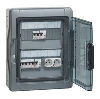 Coffrets DTU - IP 65 - 1x32 A - arrivée sur bornier (401995)