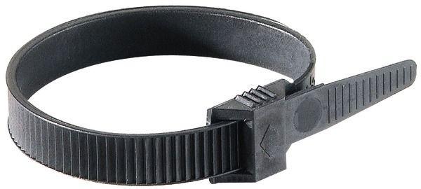 Collier de fixation 180 x 9mm Noir (942)