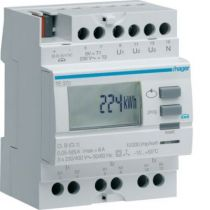 Compteur tri via transformateur d\'intensité 50 à 6000/5A sortie KNX (TE370)