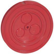 Couvercle de pose pour boite Batibox béton - manchon point de centre