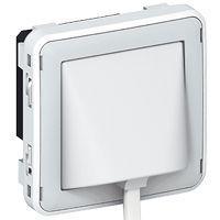 Détecteur d\'inondation Prog Plexo composable gris/blanc
