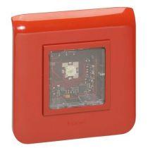 Diffuseur lumineux Mosaic pr alarme incendie - saillie - 2mod - 14 à 16 mA - LED (040596)