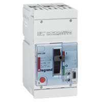 Disj puissance DPX 250 - électronique - 36 kA - 3P - 160 A (025442)
