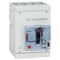 Disj puissance DPX 250 - électronique - 70 kA - 4P - 100 A (025456)