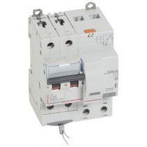 Disjoncteur diff DX³ 6000 -vis-2P-230/400V~-25A -typeAC -300mA-10kA-c ourbe C - 4 mod (411174)
