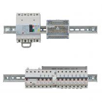 Disjoncteur diff DX³ 6000-vis/vis - 4P 400V~ -32A -type AC 30mA - 10 kA courbe C -4 mod (411189)