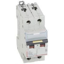 Disjoncteur DX³ 10000-vis/vis-2P-230/400V~-32A-16kA-courbe B - 2M (408962)