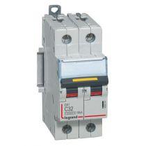 Disjoncteur DX³ 10000-vis/vis-2P-230/400V~-32A-16kA-courbe C - 2M (409224)