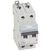 Disjoncteur DX³ 10000-vis/vis-2P-230/400V~-50A-16kA-courbe B - 2M (408964)