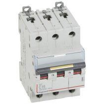 Disjoncteur DX³ 10000-vis/vis-3P-400V~-16A-16kA-courbe C - 3M (409273)