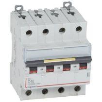 Disjoncteur DX³ 10000-vis/vis-4P-400V~-40A-16kA-courbe C - 4M (409359)