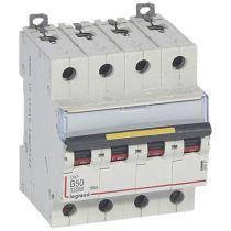 Disjoncteur DX³ 10000-vis/vis-4P-400V~-50A-16kA-courbe B - 4M (409087)
