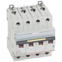 Disjoncteur DX³ 10000-vis/vis-4P-400V~-6A-16kA-courbe C - 4M (409351)