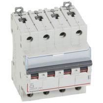Disjoncteur DX³ 6000 -vis/vis- 4P- 400V~-3A-10kA-courbeC-peigne HX³ trad 4P - 4M (407892)