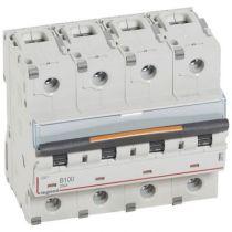 Disjoncteur DX³-vis/vis-4P-400V~-100A-25kA-courbe B - 6M (409750)