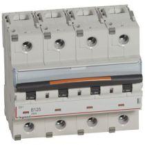 Disjoncteur DX³-vis/vis-4P-400V~-125A-25kA-courbe B - 6M (409751)