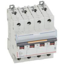 Disjoncteur DX³-vis/vis-4P-400V~-25A-25kA-courbe B - 4M (409744)