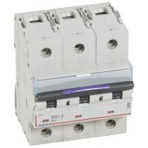 Disjoncteur magnétique seul DX³-MA - 3P - 1,6 A - 50 kA - courbe MA - 4,5M (410246)