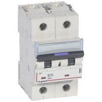 Disjoncteur magnéto-therm DX³ - 2P - 10 A - 50 kA - courbe B - 3M (410097)