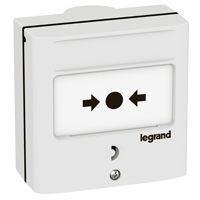 Dispositif de commande pour coupure - 1 contact - couleur blanc (138071)