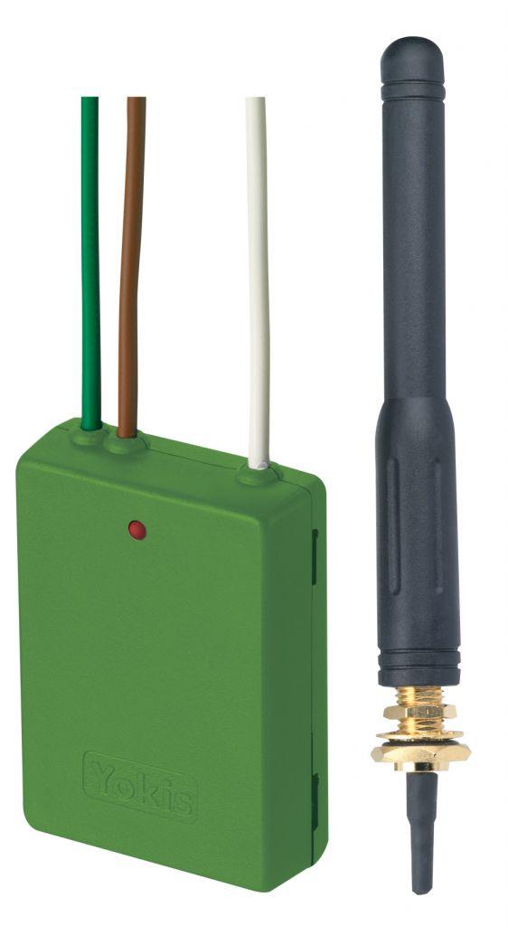 Emetteur encastrable 2 canaux Power Antenne extérieur (E2BPPX)