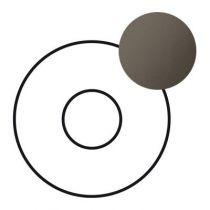 Enjoliveur Céliane - atténuateur 25 W - graphite