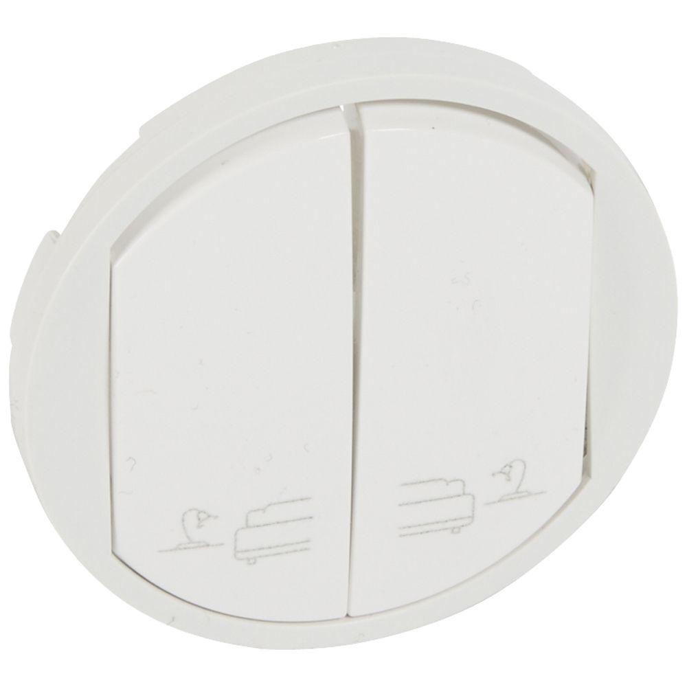 Enjoliveur Céliane - cde de lampes de chevets pour hotel - blanc