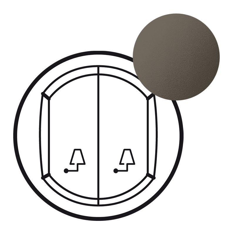 Enjoliveur Céliane - cde de lampes de chevets pour hôtel - graphite