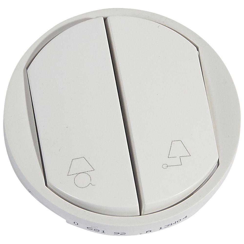 Enjoliveur Céliane - cde de lampes entrée-bureau pour hotel - blanc